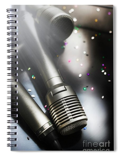 In Lights And Glitter Spiral Notebook