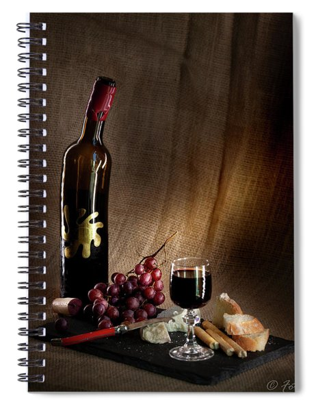 In Love With Chiaroscuro Light Spiral Notebook