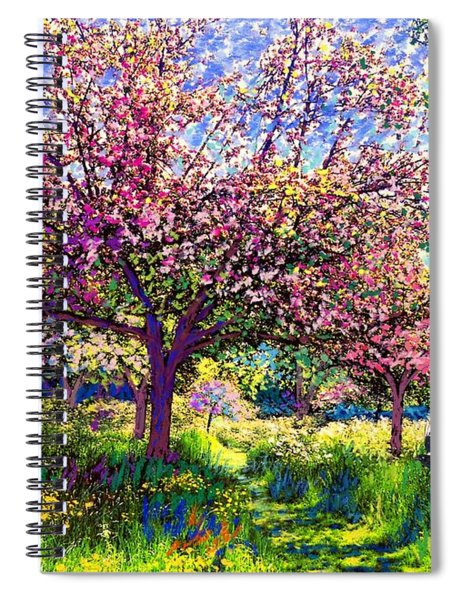 In Love With Spring, Blossom Trees Spiral Notebook