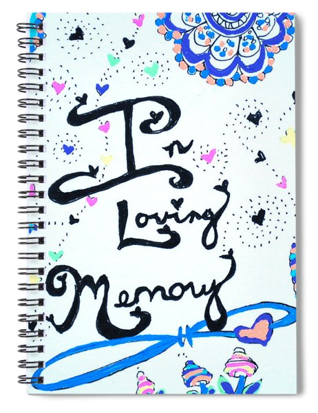 In Loving Memory Spiral Notebook