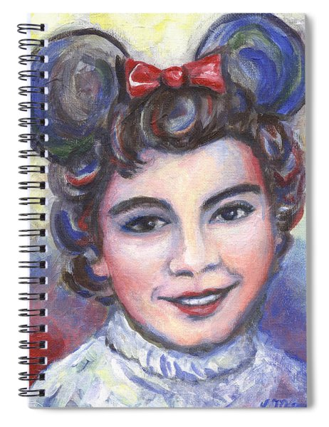 In Memory Of Annette Funicello Spiral Notebook
