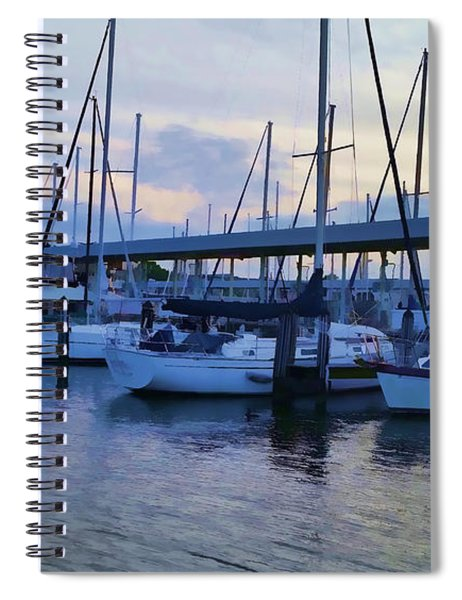 In My Dreams Sailboats Spiral Notebook