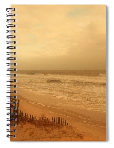 In My Dreams The Ocean Sings - Jersey Shore Spiral Notebook