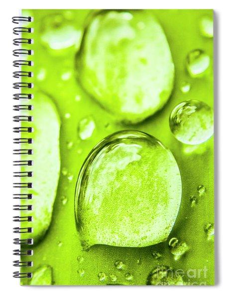 In Natural Macro Spiral Notebook