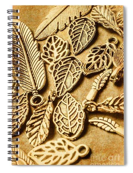 In Ornamental Nature Spiral Notebook