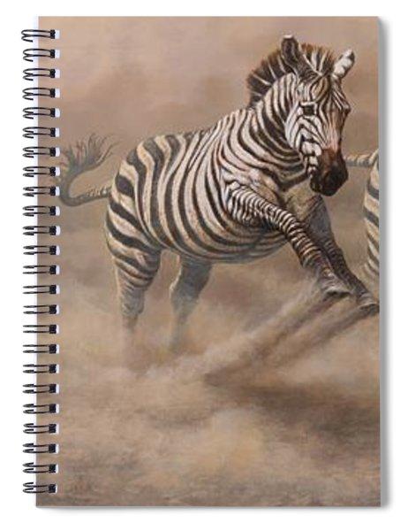 In Pursuit Spiral Notebook