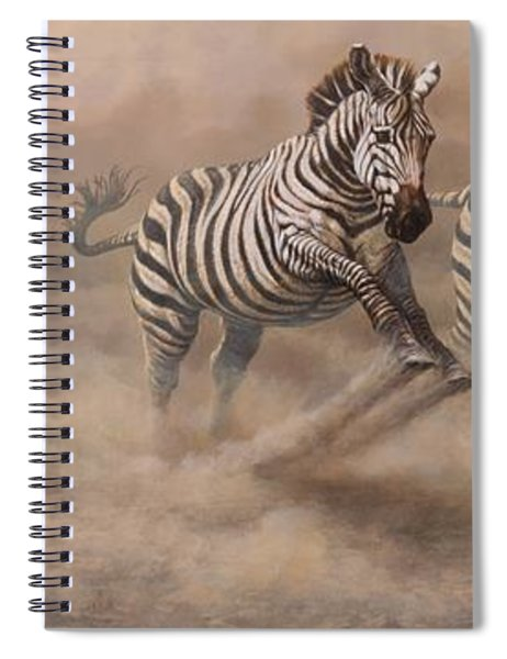 In Pursuit Spiral Notebook by Alan M Hunt