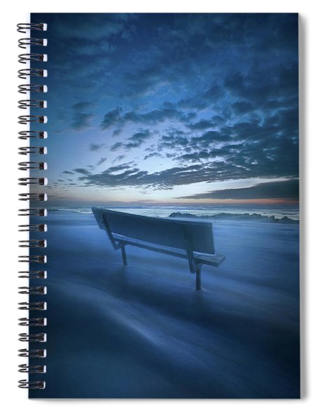 In Silence And Solitude Spiral Notebook