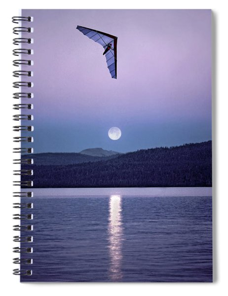 In The Air Tonight Spiral Notebook