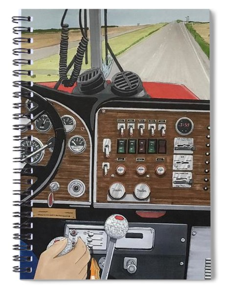 In The Driver's Seat Spiral Notebook