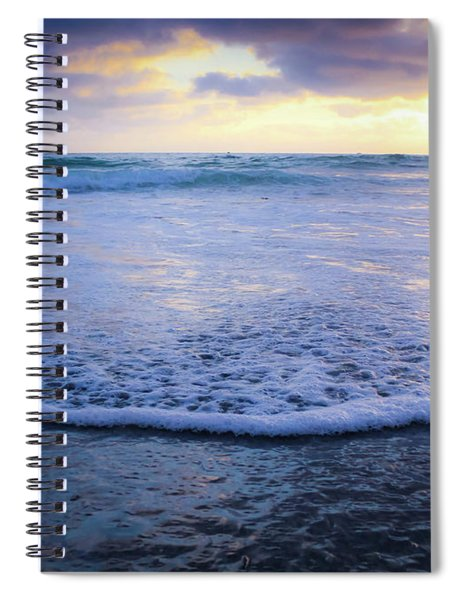 Spiral Notebook featuring the photograph In The Evening by Alison Frank