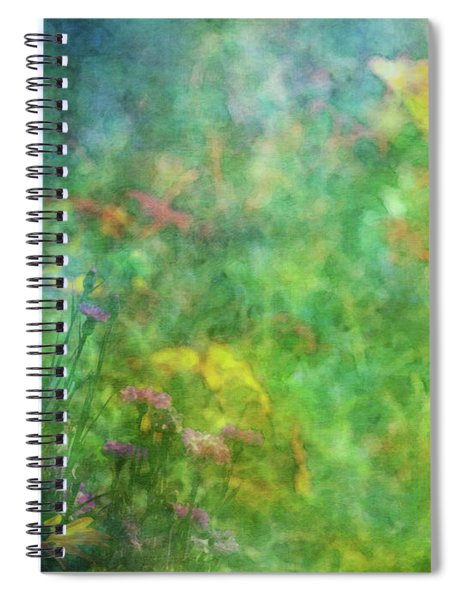 In The Garden 2296 Idp_2 Spiral Notebook