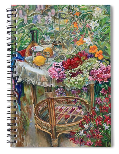 In The Garden Spiral Notebook
