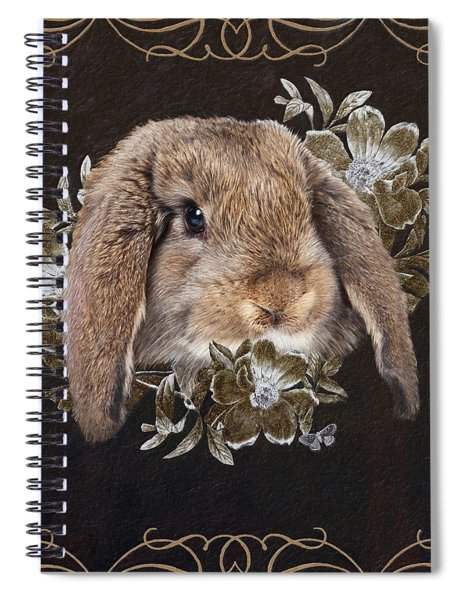 In The Garden Of Whispers Spiral Notebook