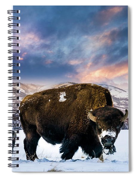 In The Grips Of Winter Spiral Notebook