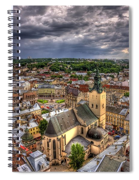 In The Heart Of The City Spiral Notebook