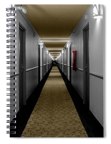 In The Long Hall Spiral Notebook