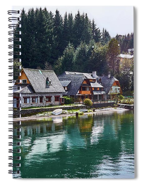 Rustic Museum In The Argentine Patagonia Spiral Notebook