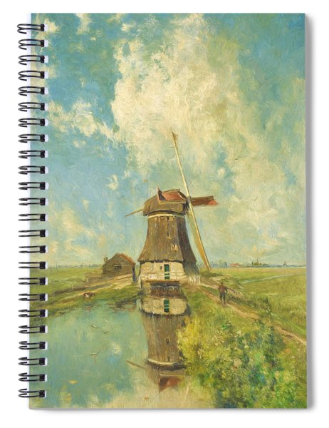 In The Month Of July Spiral Notebook