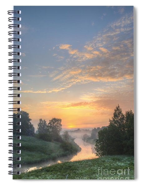 In The Morning At 04.27 Spiral Notebook