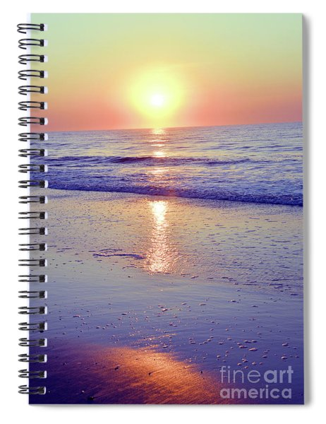 In The Morning Light Everything Is Alright Spiral Notebook