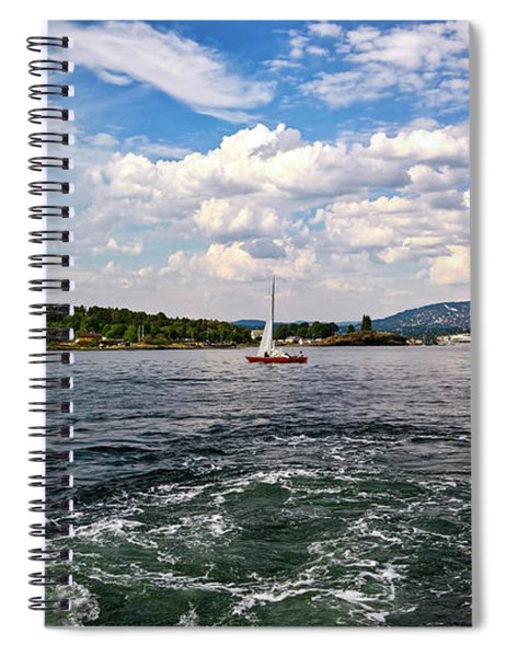 In The Oslo Fjord Spiral Notebook