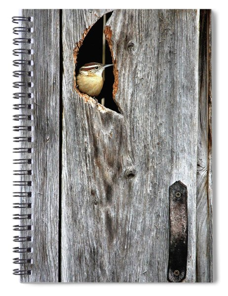 In The Outhouse Shed Spiral Notebook