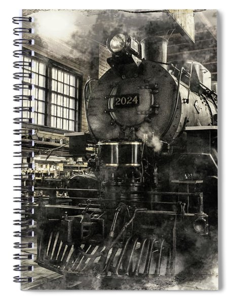 In The Roundhouse Spiral Notebook