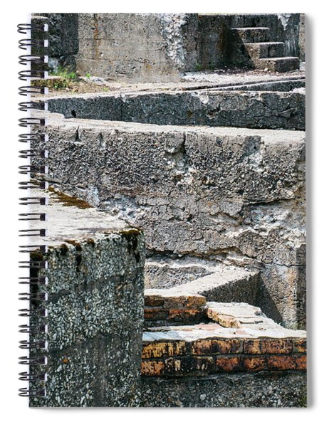 In The Ruins 6 Spiral Notebook