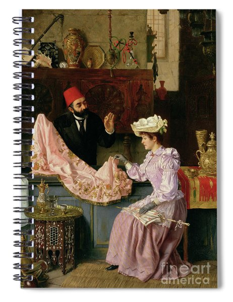 In The Souk, 1891 Spiral Notebook