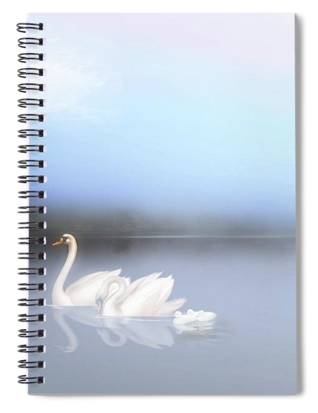 In The Still Of The Evening Spiral Notebook