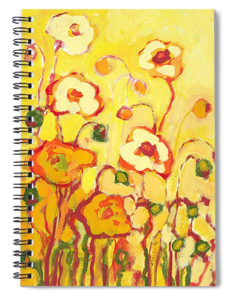 In The Summer Sun Spiral Notebook