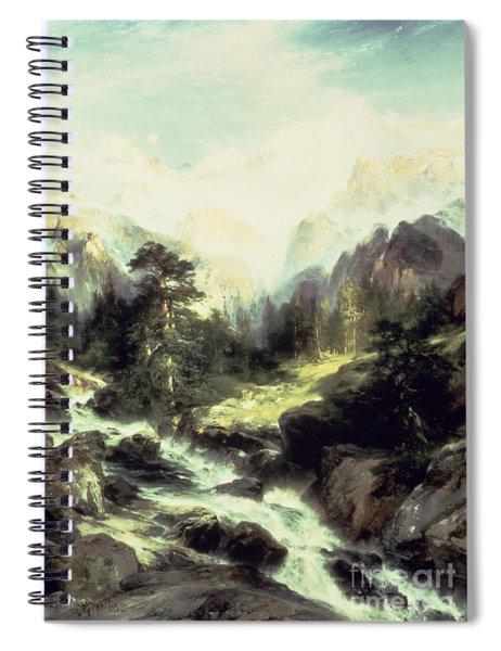 In The Teton Range Spiral Notebook