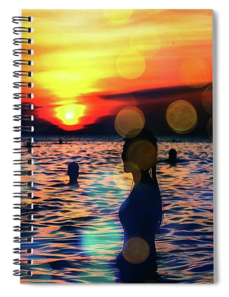 In The Water Spiral Notebook