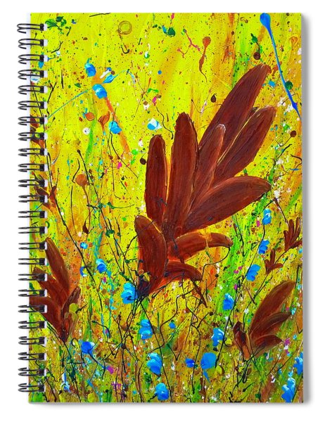 In The Wind Spiral Notebook