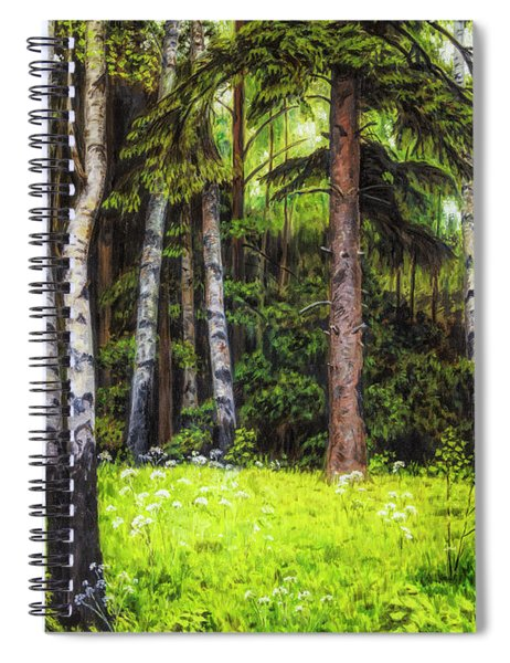 In The Woods Spiral Notebook