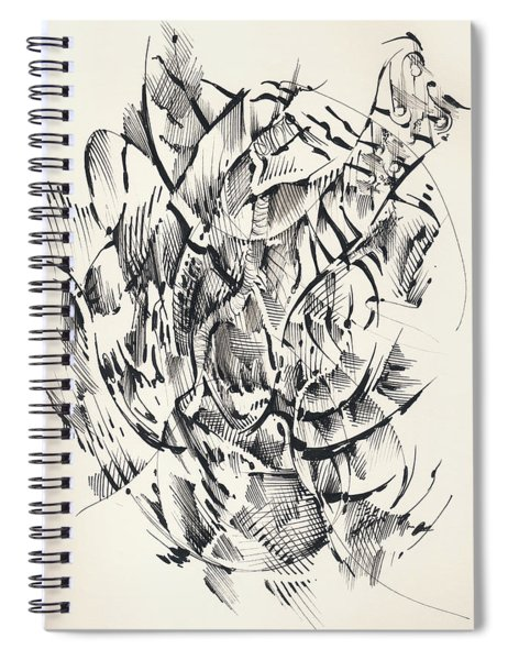 In Vain Spiral Notebook