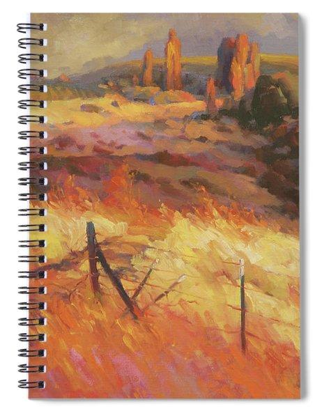 Incandescence Spiral Notebook