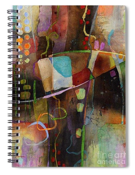 Incipient Bloom Spiral Notebook