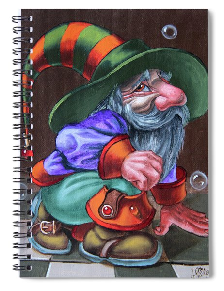 Inconspicuous Spiral Notebook