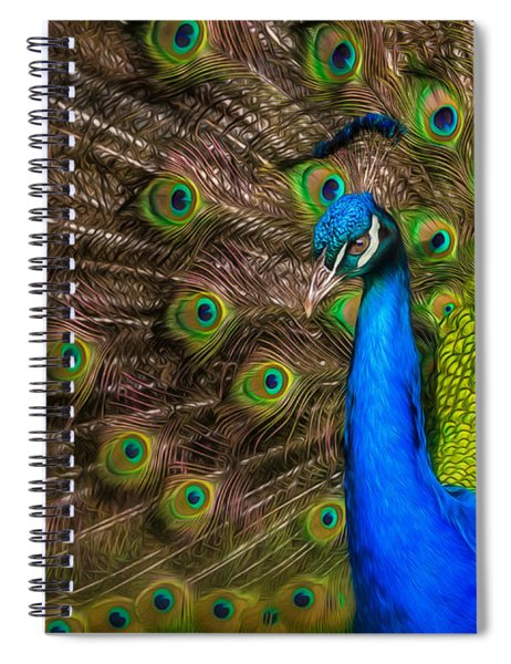 India Blue Spiral Notebook