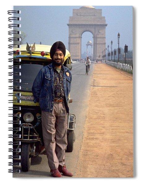 India Gate Spiral Notebook