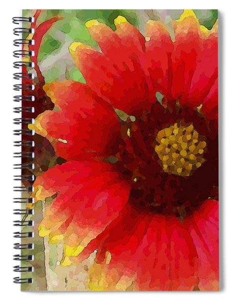 Indian Blanket Flowers Spiral Notebook