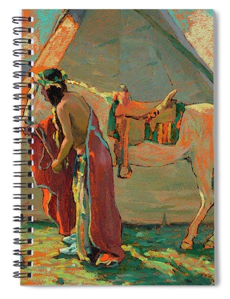 Indian Camp Spiral Notebook