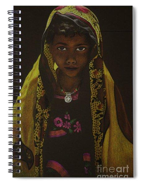 Indian Child Spiral Notebook