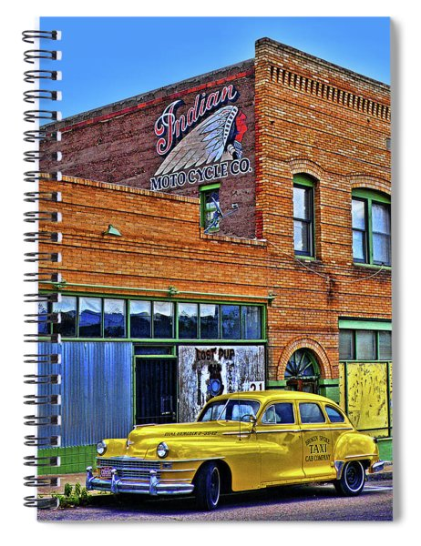 Indian Motocycle Co. Spiral Notebook