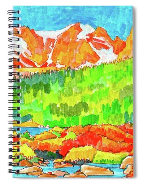 Indian Peaks Wilderness Spiral Notebook