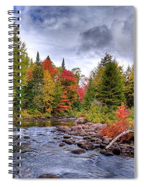 Indian Rapids Spiral Notebook