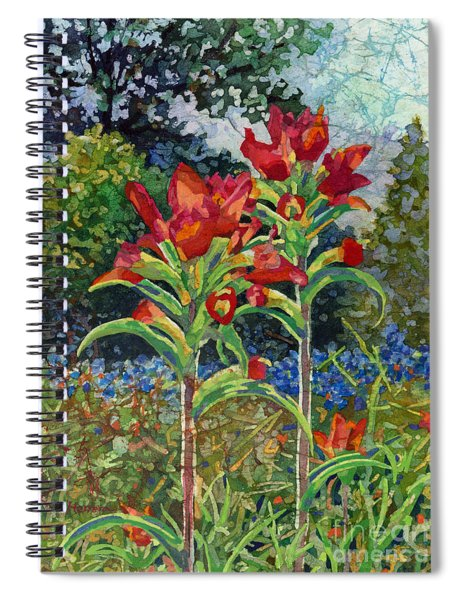 Indian Spring Spiral Notebook