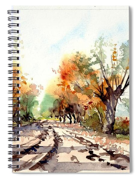 Indian Summer I Spiral Notebook